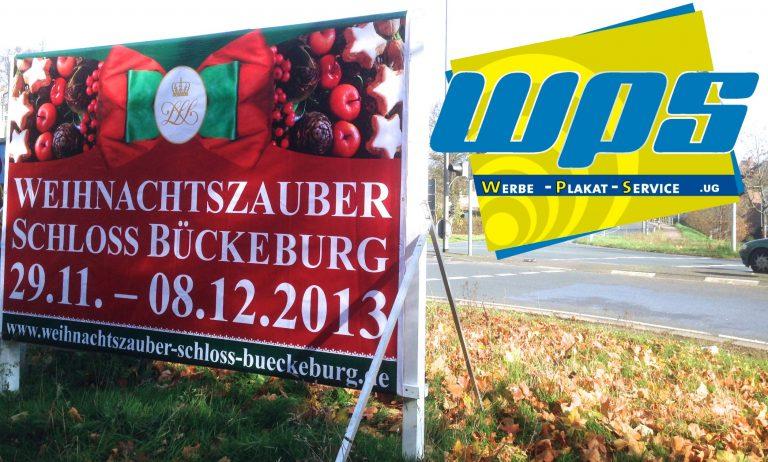 werbeplakat bückeburg